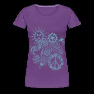 T-Shirts ~ Women's Premium T-Shirt ~ hippie doodle