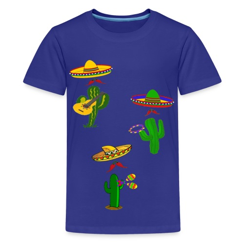 mexican musicians - Kids' Premium T-Shirt