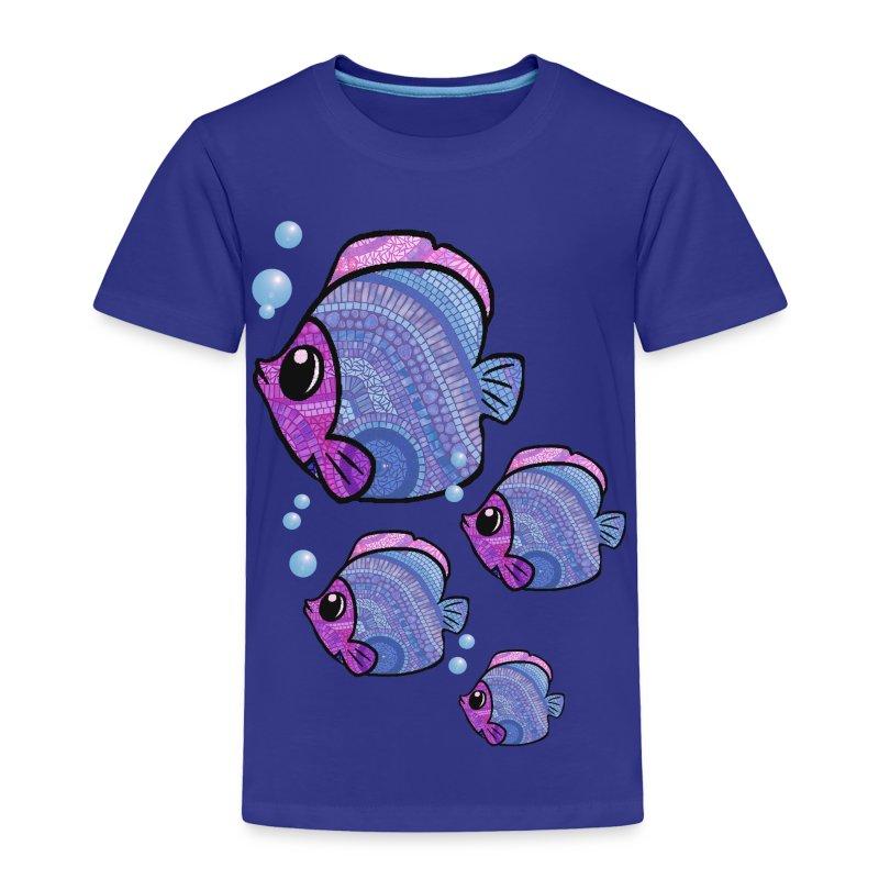 mosaic fish - Toddler Premium T-Shirt