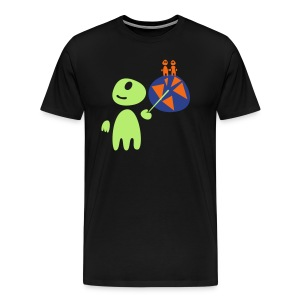 Earthlings101 (male, heavy) - Men's Premium T-Shirt