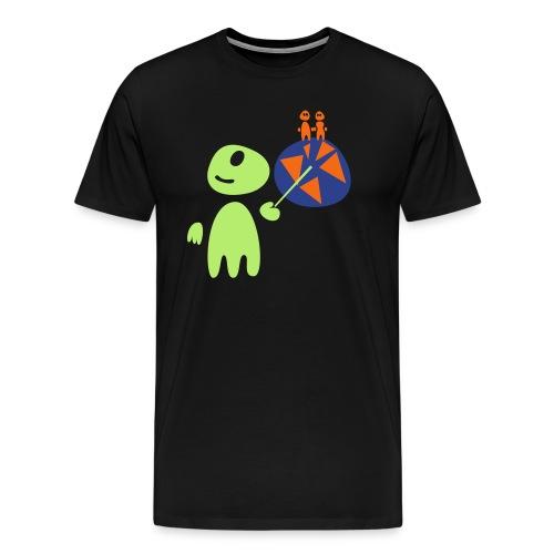 Earthlings101 (male, heavy) - Men's Premium T-Shirt