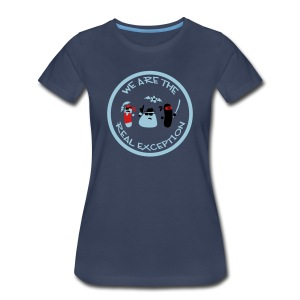 Micobes (female, heavy) - Women's Premium T-Shirt