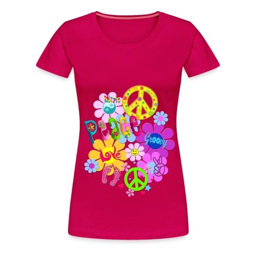 hippie - Women's Premium T-Shirt