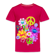 Baby & Toddler Shirts ~ Toddler Premium T-Shirt ~ hippie