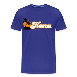 Kona 3X & 4X - Men's Premium T-Shirt