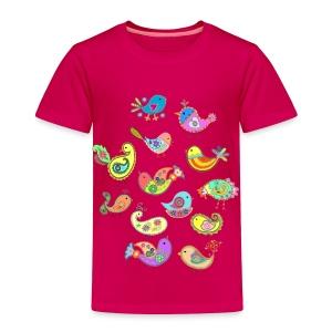 paisley birds - Toddler Premium T-Shirt