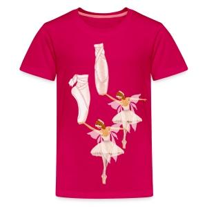 fairy ballet - Kids' Premium T-Shirt
