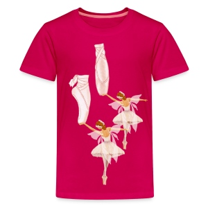 fairy ballet - Kids' Premium T-Shirt