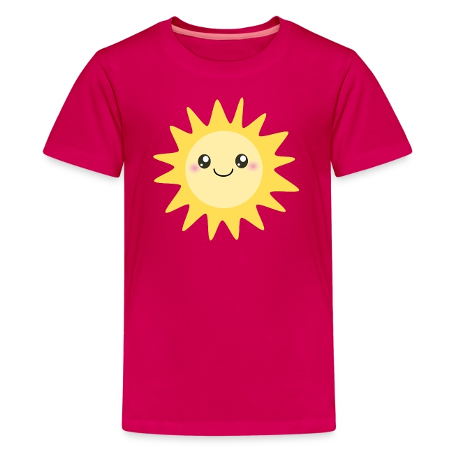 cbc96d6dd993 Inspirationz Store on Spreadshirt.com | Cute happy sun - Kids ...