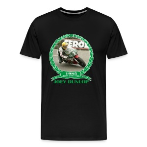 No 6 Joey Dunlop TT 1985 Junior  - Men's Premium T-Shirt