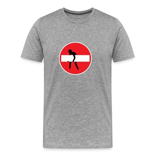 No entry man - Men's Premium T-Shirt