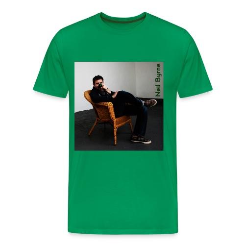 Mens 3XL/4XL - Neil Byrne - Green Nose - Men's Premium T-Shirt