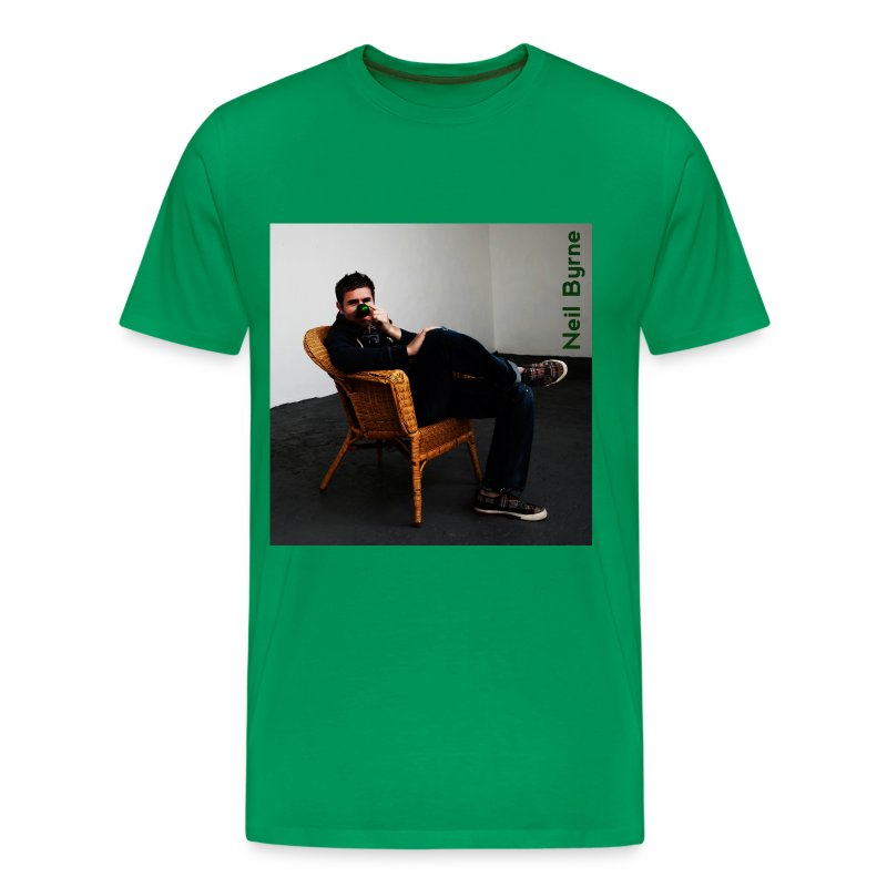 Mens 3XL/4XL - Neil Byrne - Green Nose - Men's Premium T-Shirt