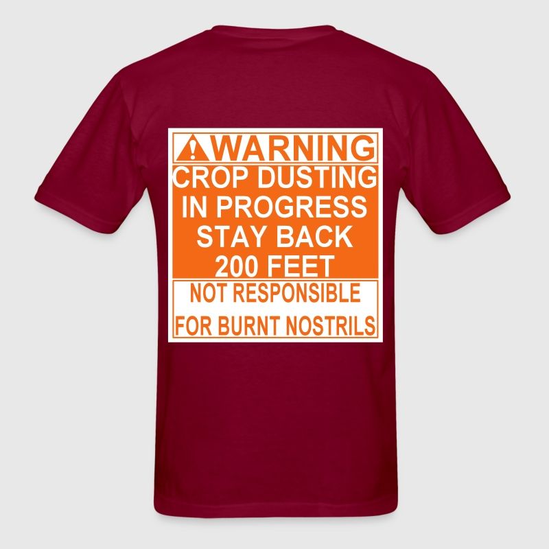 Crop Duster T-Shirts - Men's T-Shirt