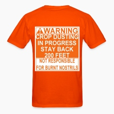 Crop Duster T-Shirts