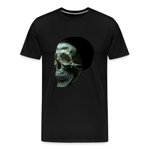 skull with braces - shirt - Men's Premium T-Shirt