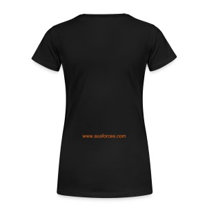 AUF LOGO - Women's T-Shirt Classic Fit - GOLD - Digital Printing - Women's Premium T-Shirt