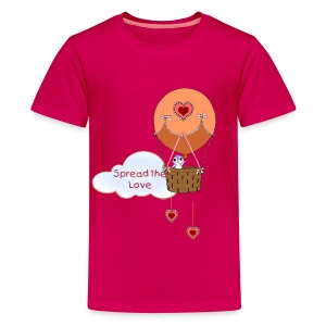 Spread the Love kid's t-shirt - Kids' Premium T-Shirt