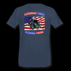 Men's Premium T Back AmPride AmPower - Men's Premium T-Shirt