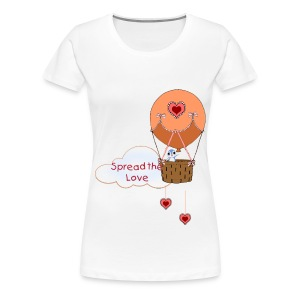 Spread the Love woman's t-shirt - Women's Premium T-Shirt