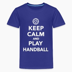 Keep calm and play Handball Kids' Shirts