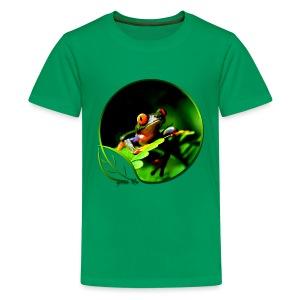 Green Life Series - Tree Frog - Kids' Premium T-Shirt