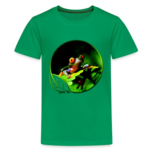 Green Life Series - Tree Frog - Kids' Premium T-Shirt