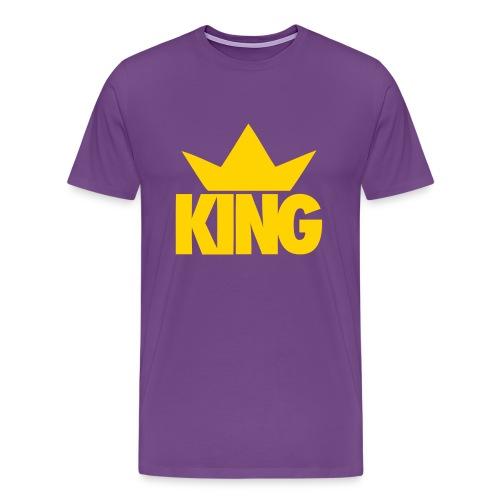 King Mens T-Shirt - Men's Premium T-Shirt