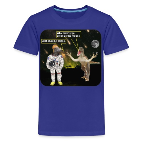 spacedino7shc - Kids' Premium T-Shirt