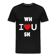 T-Shirts ~ Men's Premium T-Shirt ~ WH I love you SK