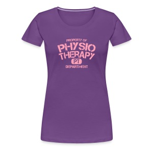 Physiotherapy Departement PT - Women's Premium T-Shirt