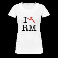 T-Shirts ~ Women's Premium T-Shirt ~ I Heart Running Man