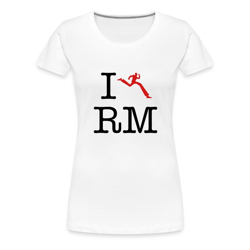 I Heart Running Man - Women's Premium T-Shirt