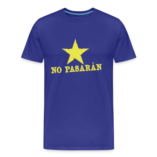 No Pasaran 3/4XL T-Shirt - Men's Premium T-Shirt