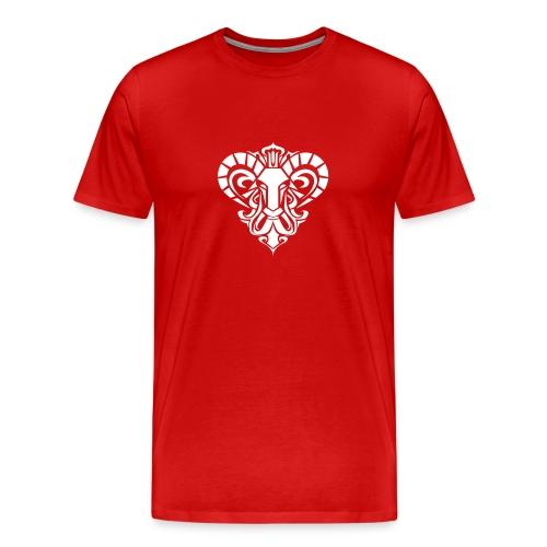 Aries Red - Men's Premium T-Shirt