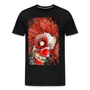 mens zombie clown - Men's Premium T-Shirt