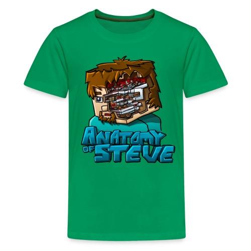 Anatomy of Steve (Youth) - Kids' Premium T-Shirt