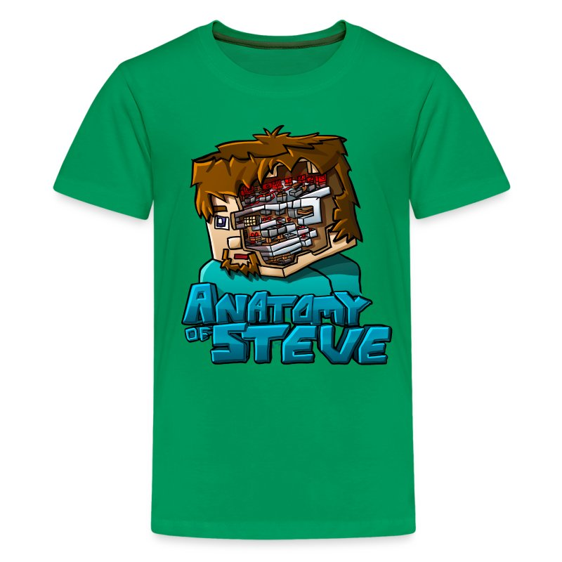 Anatomy of Steve (Youth) - Kids' Premium T-Shirt