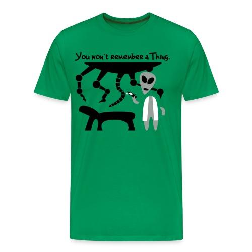 Alien Scientist (male, heavy) - Men's Premium T-Shirt