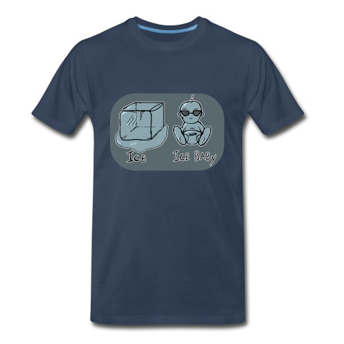 Ice, Ice-Baby - Men's Premium T-Shirt