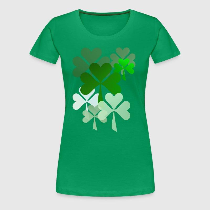 Faded Shamrocks T Shirt Spreadshirt