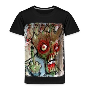 kids zombie finger - Toddler Premium T-Shirt