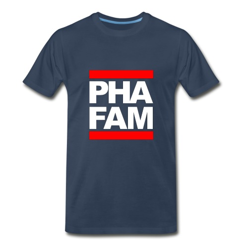 PHA FAM 3/4 XL [Trademark Logo] - Men's Premium T-Shirt