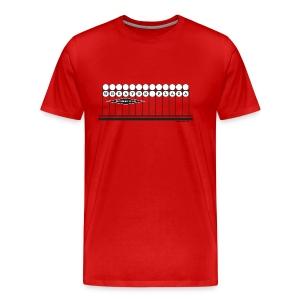 Wheaton Plaza Heavyweight T (red) - Men's Premium T-Shirt