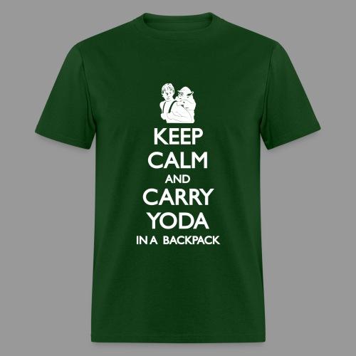 Keep Calm and Carry Yoda Mens - Men's T-Shirt