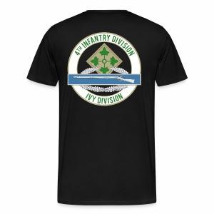 4th Infantry CIB - Men's Premium T-Shirt