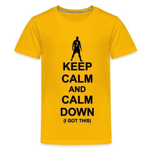 Ronaldo says relax - Kids' Premium T-Shirt