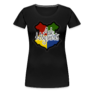 T-Shirts ~ Women's Premium T-Shirt ~ Ask Hogwarts Womens Tee