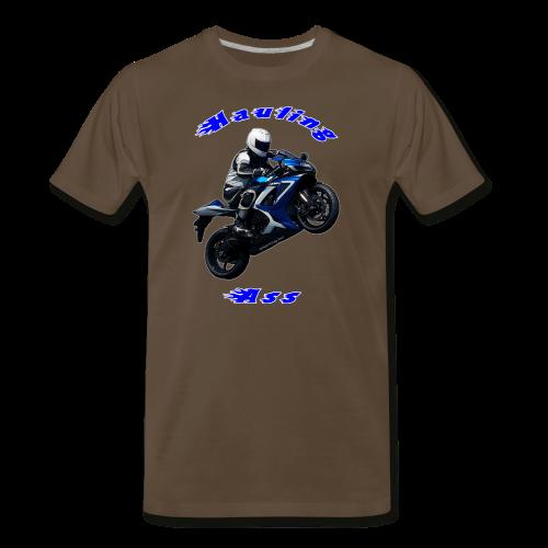 Men's Premium T SportBlue Hauling Ass (Front) - Men's Premium T-Shirt