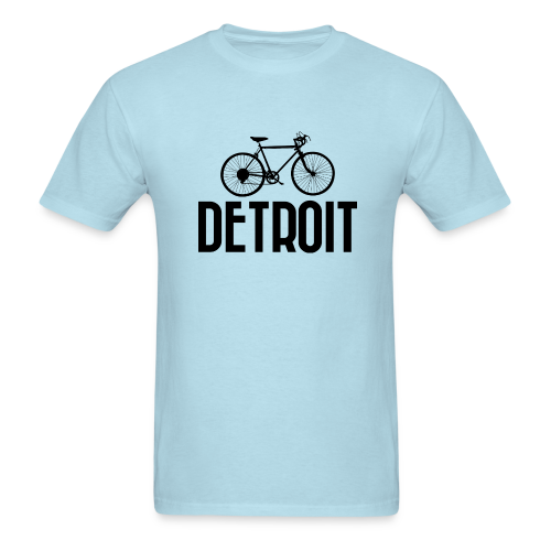 Bike Detroit - Men's T-Shirt